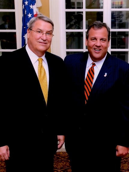 Robert Avery, Esq., Bergen County NJ Freeholder Candidate with Governor Chris Christie